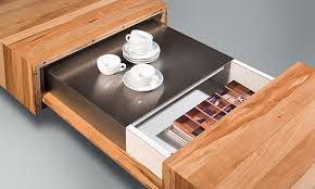 Coffee Table Design Wooden Coffee Tables With Sliding Top And Burner Kit By Schulte