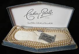 vintage necklace box images Vintage james walker century pearls necklace vintage gal jpg