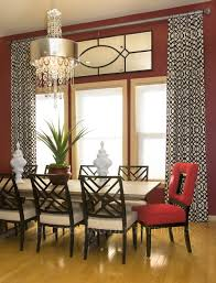 Curtain Ideas For Dining Room Dining Room Window Treatment