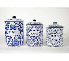cobalt blue kitchen canisters alcott hill 3 kitchen canister set reviews wayfair