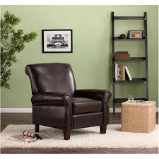 club chairs for living room dorel living faux leather club chair multiple colors walmart com