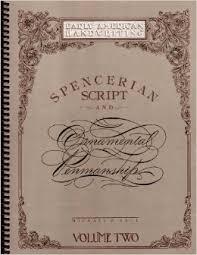 spencerian script and ornamental penmanship by michael r sull