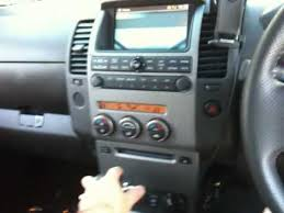 nissan navara d40 reversing camera youtube