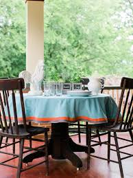 Dining Room Tablecloths How To Easily Dress Up A Plain Tablecloth 10 Tips For Easy