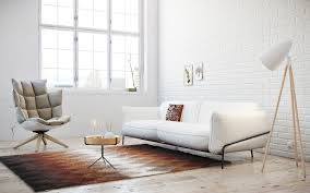 chair superb sofa armchair coffee table floor lamp rug painting