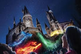 nighttime lights at hogwarts universal studios hollywood announces the nighttime lights at