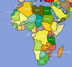 Ghana Map Africa by Unit 17 Africa