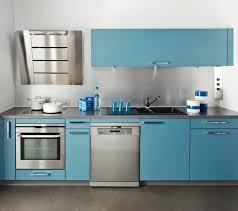 cuisine turquoise cuisine en bleu gallery of cuisine casto bleu givr et gris with
