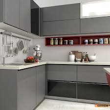 lacquered glass kitchen cabinets china modern high quality tempered glass wooden lacquer