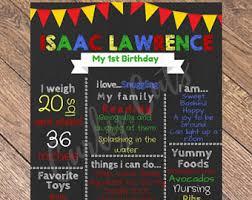 birthday board birthday board etsy