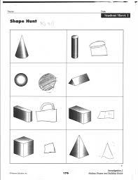 drawing 3d shapes worksheet geometric shapes worksheets free to