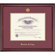 college diploma frame 1516d boston college diploma frame boston college