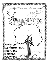 first grade wow stellaluna saves the day and the week freebie