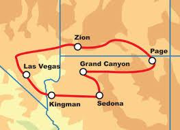 map las vegas and grand las vegas national park motorcycle tour self drive motorcycle tour