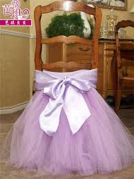 chair covers for baby shower bow tulle tutu wedding baby shower birthday party chair skirt