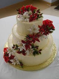 christmas wedding cakes christmas wedding cake cakecentral