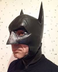 duct tape batman mask 4 steps with pictures