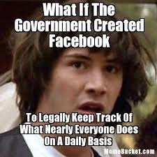 Create Facebook Meme - what if the government created facebook create your own meme
