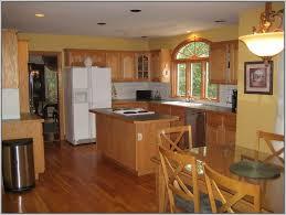 kitchen colors natural oak cabinets painting best home design
