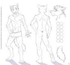 wolf character sheet template for free use by atimos on deviantart