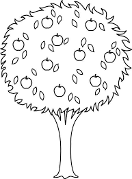 Nature Orange Tree Coloring Pages Tree Coloring Pages Natures Tree Coloring Pages