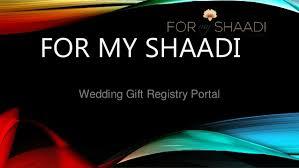 best wedding gift registry best wedding registry in india