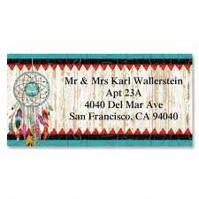 dreamcatcher border address labels current catalog