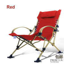 Foldable Chair Bed by Fishing Chairs Beach Chair Portable Folding Chair Aluminum Folding