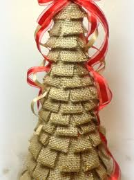 burlap christmas how to make a burlap christmas tree snapguide