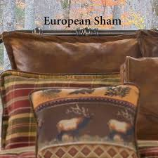 faux leather throw pillows gatlinburg rustic faux leather comforter bedding
