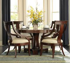 Dining Room Cameron  Pc Cottage Round Pedestal Table Set In - Brilliant white and black dining table property