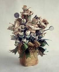 cara membuat origami bunga dari uang kertas catatannya ninis cara membuat mahar kuntum bunga dari uang kertas