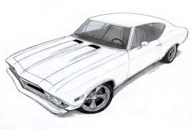 classic cars drawings camaro drawings how to draw a car fast u0026 easy