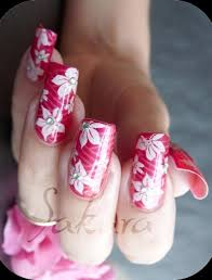 latest beautiful bridal nail art designs for girls