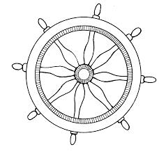 captains wheel clip art 41
