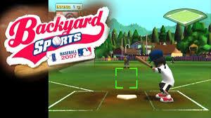 backyard baseball ps2 outdoor goods