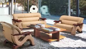 franco leather sofa bonded leather sofa set tos lf 3302 beige