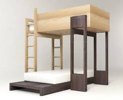 Modular Bunk Beds Simple Modular Wooden Bunk Beds To Stack Or Stagger