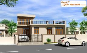 Front View House Plans Apnaghar House Design Complete Architectural Solution Page 15