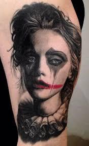 sad clown tattoos free tattoos designs to