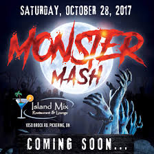 monster mash halloween party