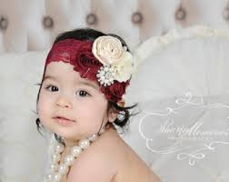 hair accessories for babies baby girl headband etsy