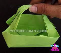 f2book ladies hand bag how to make paper folding origami easy