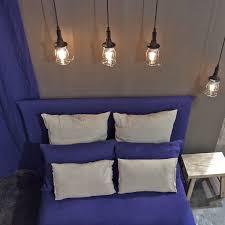 linge lit lin housse de couette 100 lin lavé bleu indigo 260x240cm