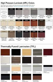 Dark Colors Names Reception Desk Finish Options