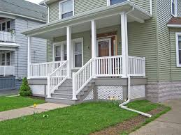 porches porch railings and front makeovers steel railing designs