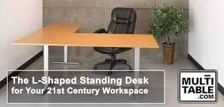 l shaped standing desk l shaped standing desk for the 21st century multitable