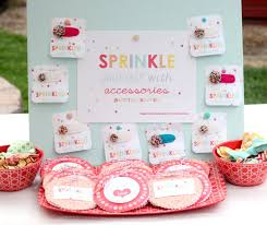baby sprinkle ideas sprinkled with party pretty prudent
