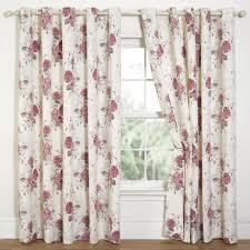 Vintage Eyelet Curtains Vintage Style Eyelet Curtains Sensational Curtain Floral Print