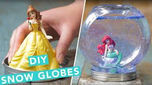 diy disney princess snow globes nailed it youtube